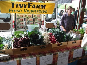 Tiny Farm at Market
